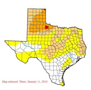 Signs of Drought Again in Texas